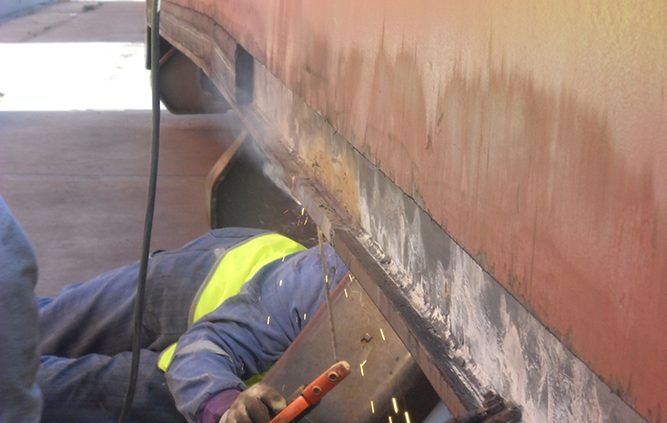 shipyard agency services